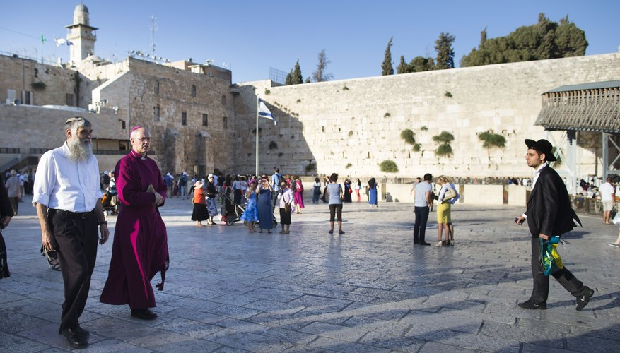 Jerusalem, the seat of Abraham, is, like the patriarch himself, sacred to three religions.