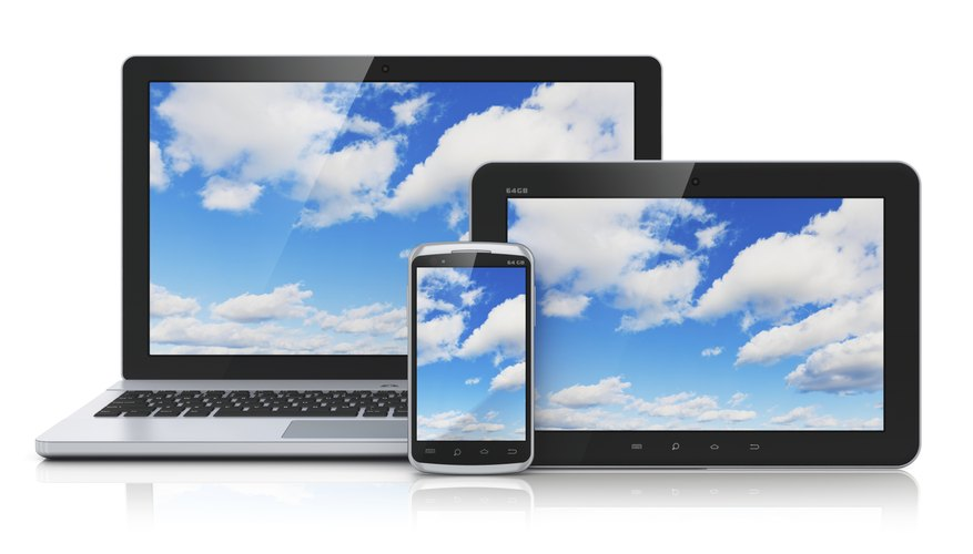 Cloud services can bridge the gap between different devices.