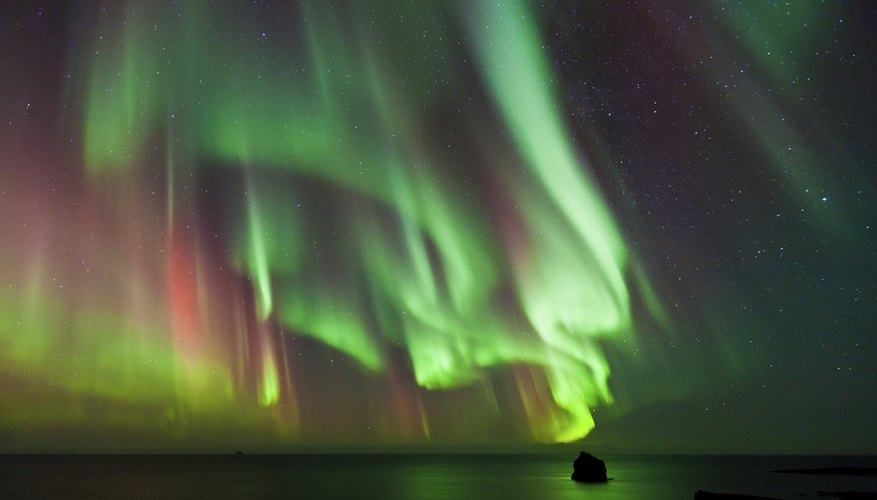 Make sure to include pictures of the northern lights in your project.