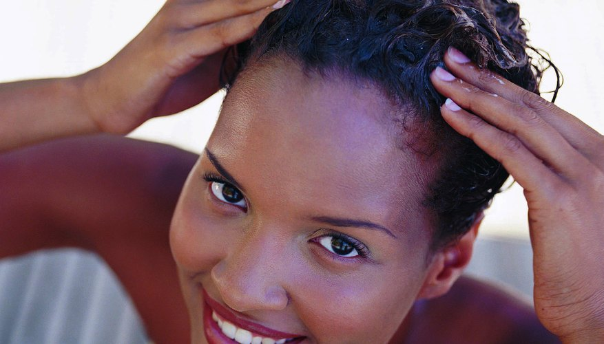 Rinse all the shampoo from your hair.