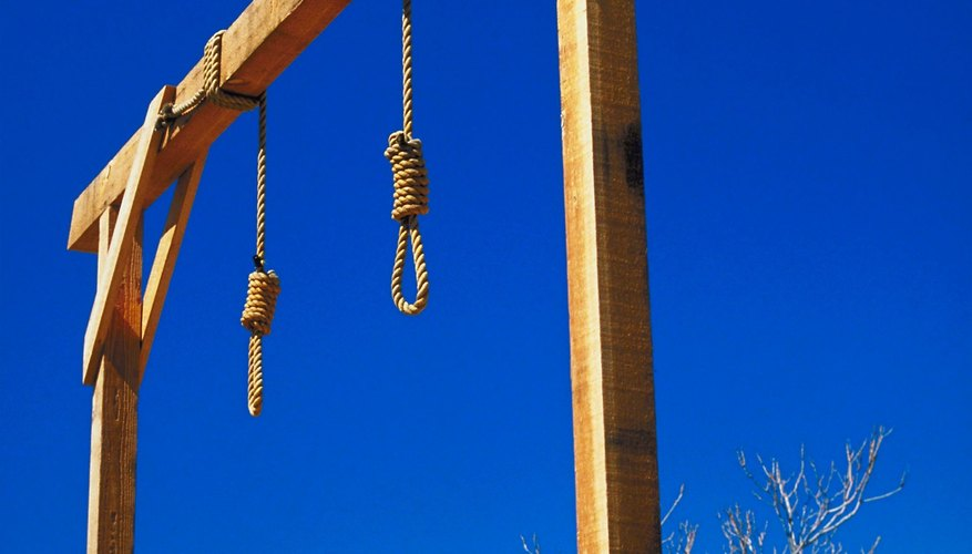 The death penalty is a controversial subject for religious and non-religious people.