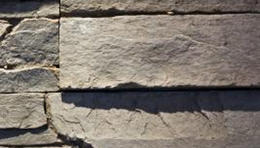 Slate is a common material in home building.