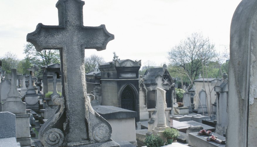 Christian funerals initially occurred at the same place as Roman funerals -- the grave.
