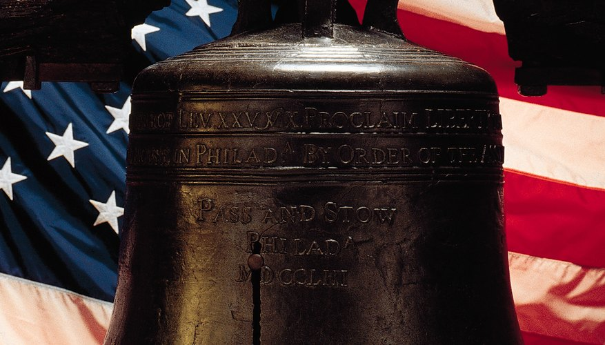 The Liberty Bell is a national symbol of American independence.