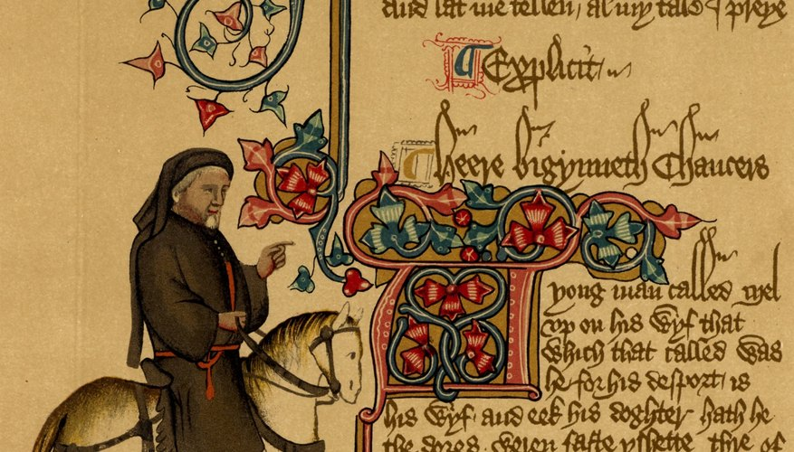 Chaucer is considered the first great English poet.