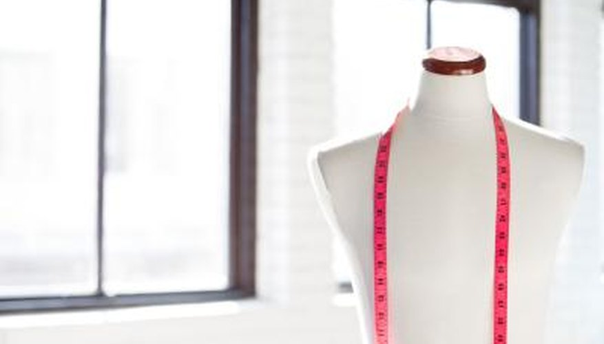 Tailor's chalk can be removed after alterations or sewing projects.