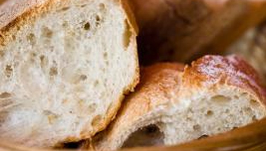 Bread is a perfect environment for mould.