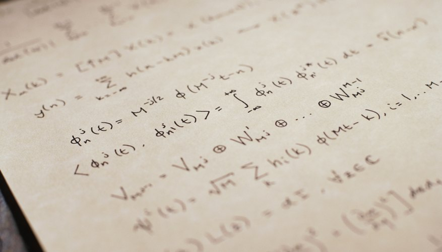 Bachelor's degrees in mathematics require courses such as calculus 3, linear algebra and differential equations.