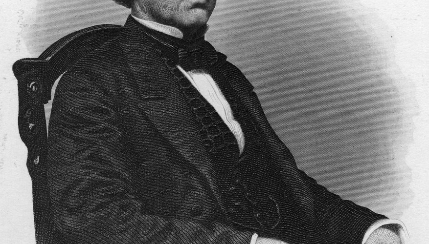 Congress wrote the Tenure of Office Act to stop President Andrew Johnson from dismissing the Cabinet chosen by Abraham Lincoln.