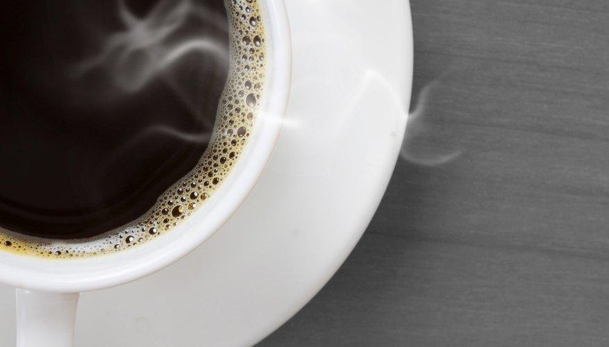 Las cafeterías se hicieron populares en el período renacentista.