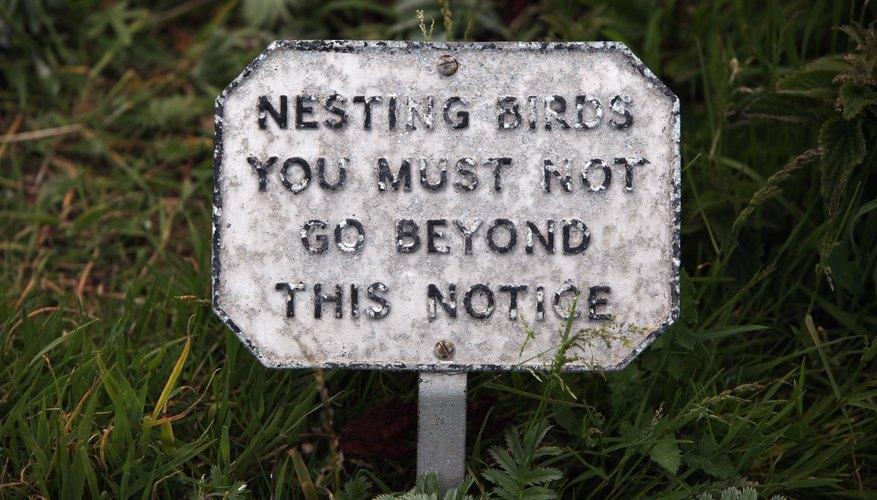 No trespassing.