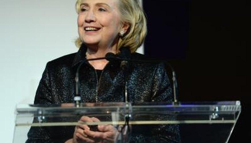 Hillary Clinton is the first first lady to be elected to public office.
