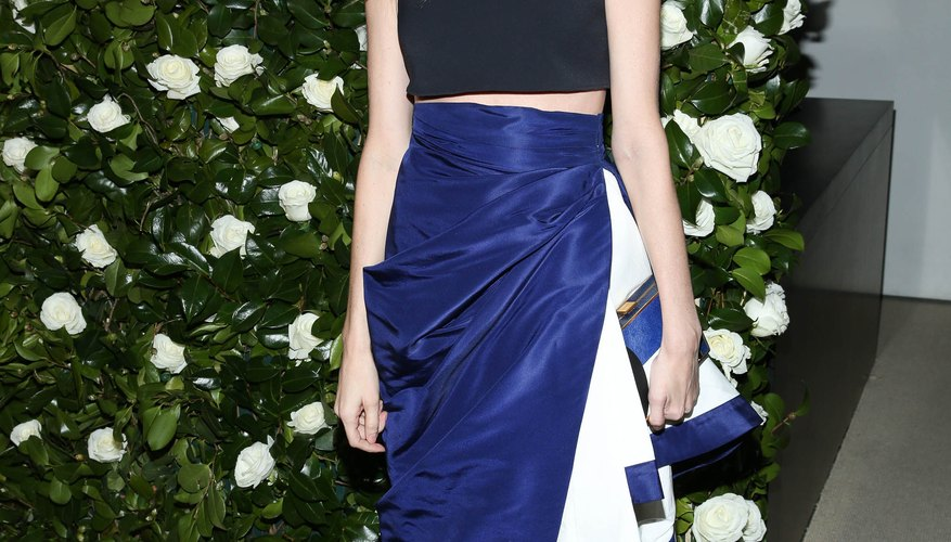 Lauren Santo Domingo blends cobalt, white and black for a chic look at The MoMA's Annual Film Benefit Honoring Tilda Swinton.