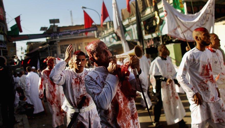 A modern Ashura procession.
