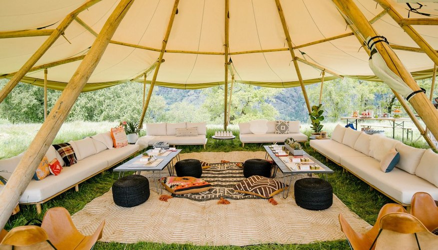 Geyser Peak Ranch is a great glamping spot that's available for events.
