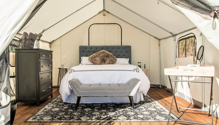 Terra Glamping brings a luxe camping experience to the Catskill Mountains in New York.