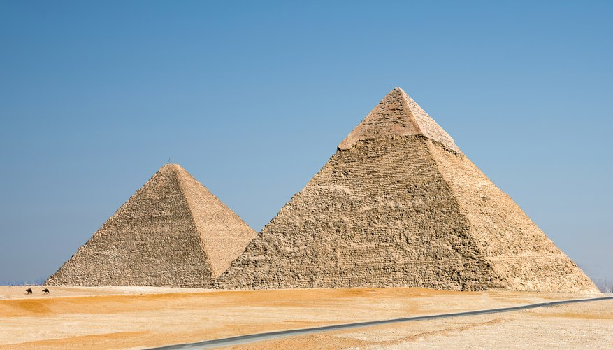 What Was Put Into a Pyramid?