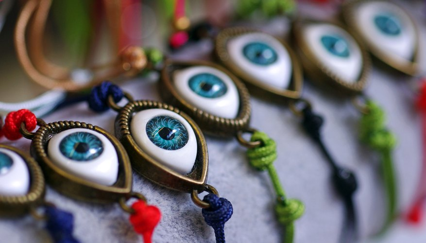 Meaning of the Greek Eyeball Symbol