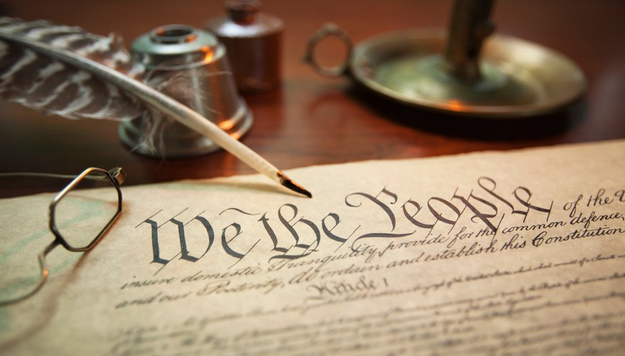 What Are Two Ways in Which the U.S. Constitution & State Constitutions Are Similar?