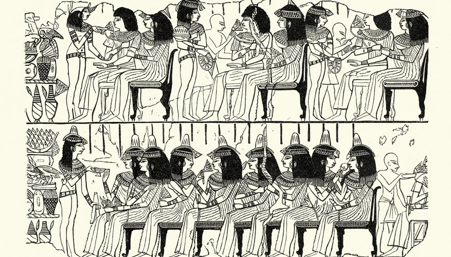 How Did the Ancient Egyptian's Beliefs Effect Their Lives?