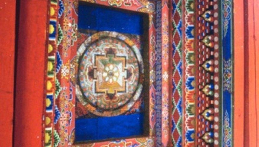 A mandala needs a viewer to unlock its hidden meaning.