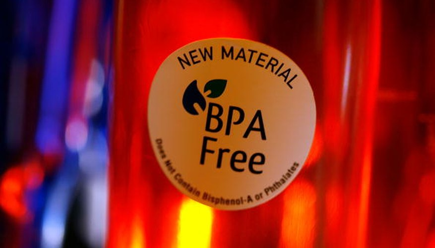 Many manufacturers of polycarbonate water bottles have started to release BPA-free products, which are usually clearly advertised.