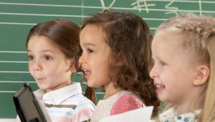 Children can learn lessons through song.