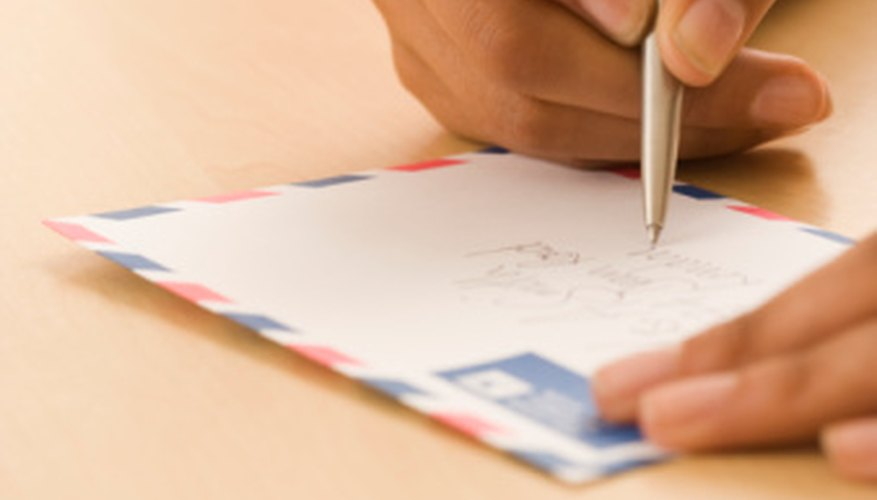 Receiving a personal letter can make a prisoner feel more human.