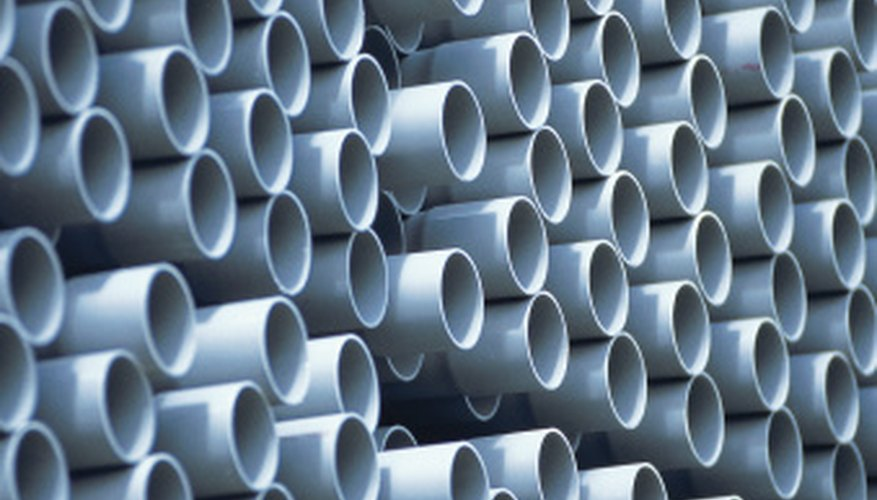 PVC pipe has found uses in everything from duct work to sink drains.