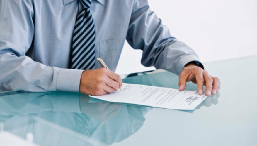 Planning is necessary when you are writing a letter requesting important documents.