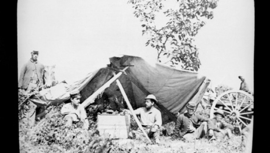 Telegraph stations were used to transfer military intelligence in the U.S. Civil War.