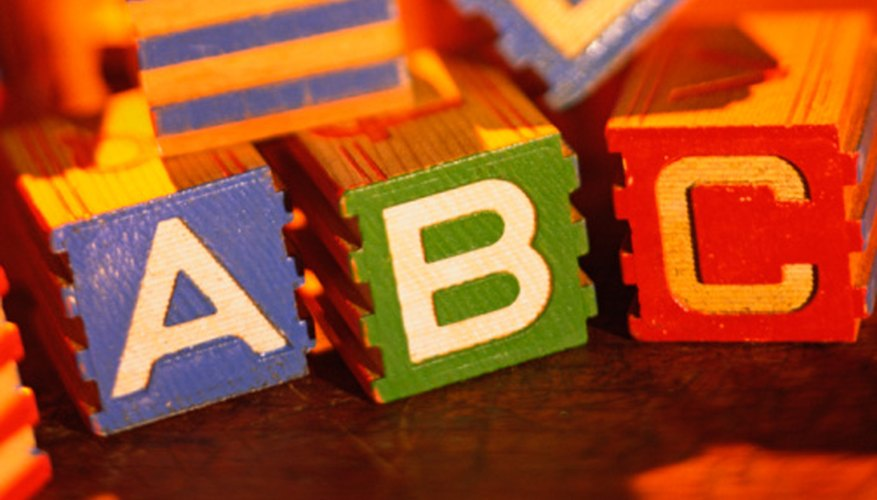 Learning the alphabet is the first step towards reading.