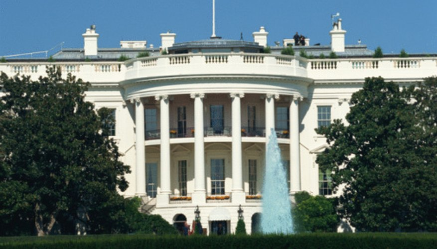 The White House is the home of the executive branch of government.