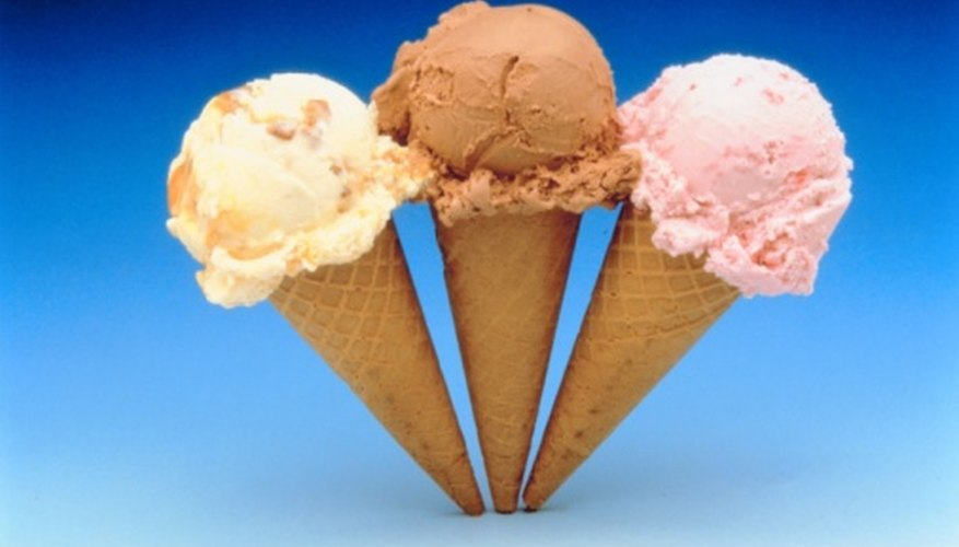 An ice-cream cone is an example of a 3D geometrical shape found in everyday life.