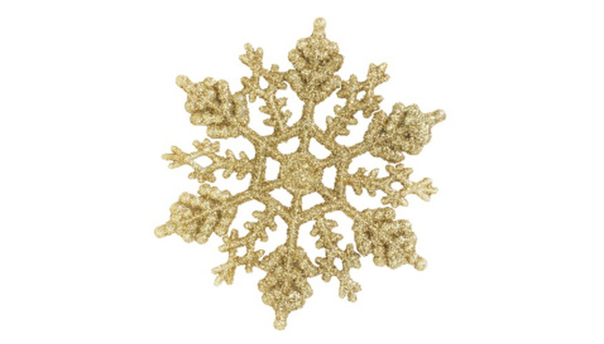 Snowflakes can represent God's love.
