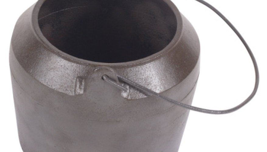 Cast-iron pots are central to African cooking.
