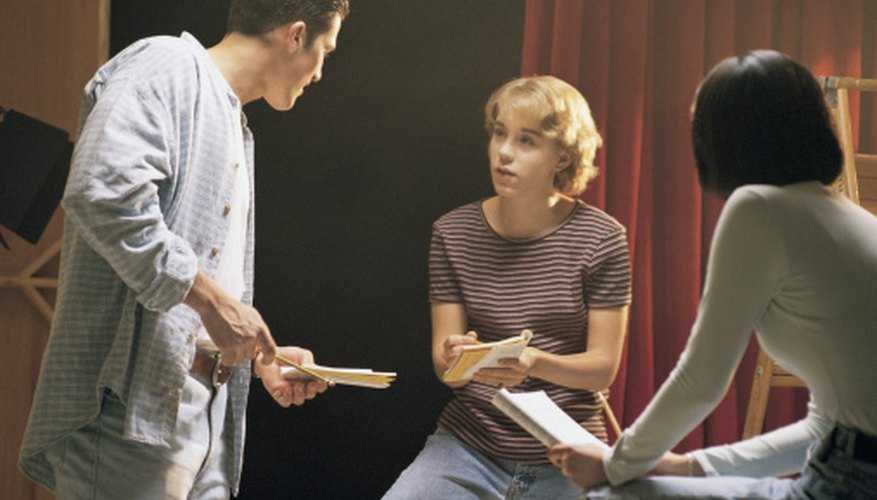 Enrolling in acting classes can improve your abilities.