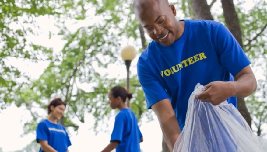 Even brief volunteer service can leave an impression that you can convey.