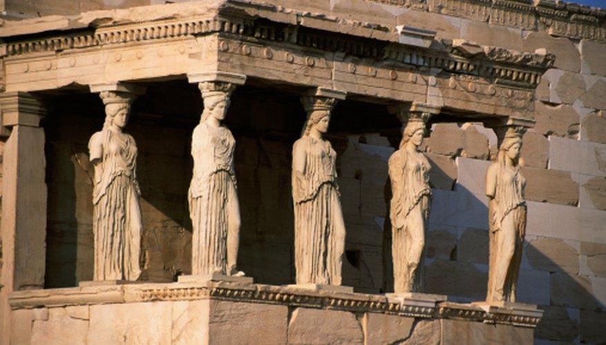 Greek mythology covers topics like religion and ancient Greek thinking.
