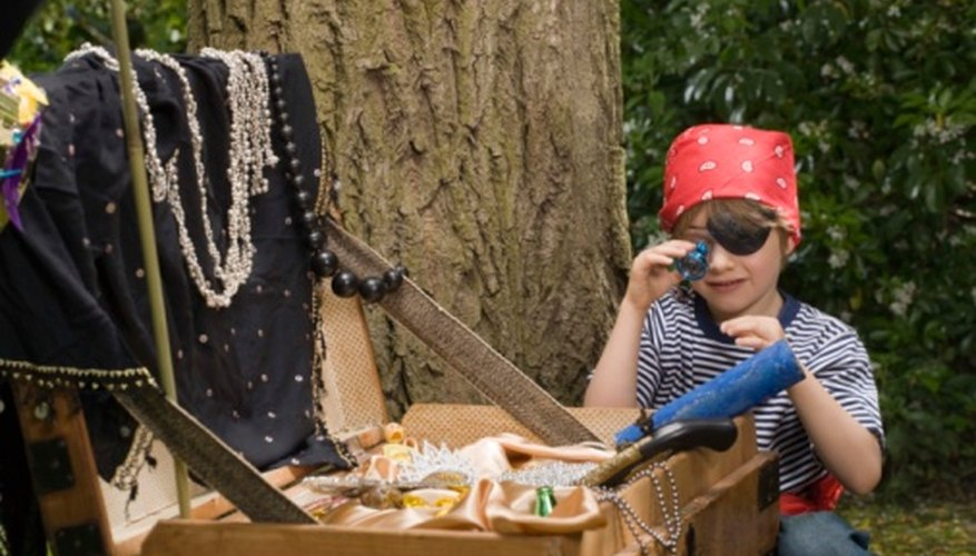 Treasure hunts motivate children to work together, learn new things and follow directions.