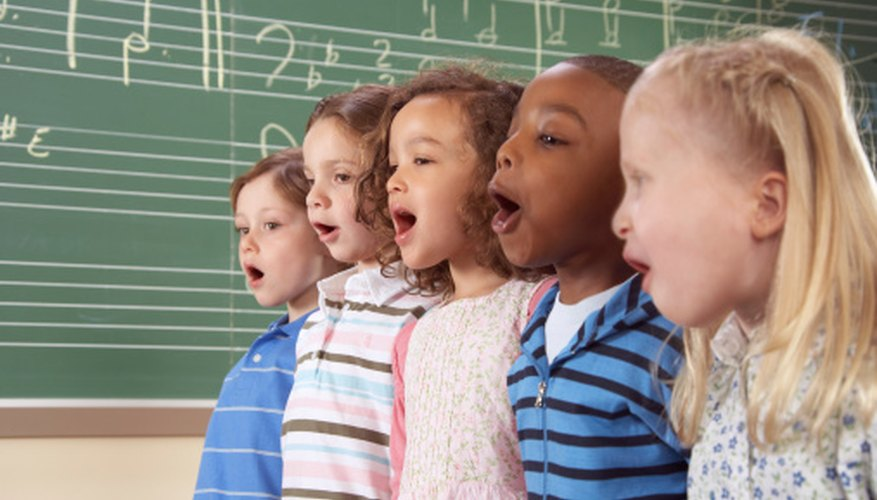 Substitute teachers can incorporate song into lesson plans.