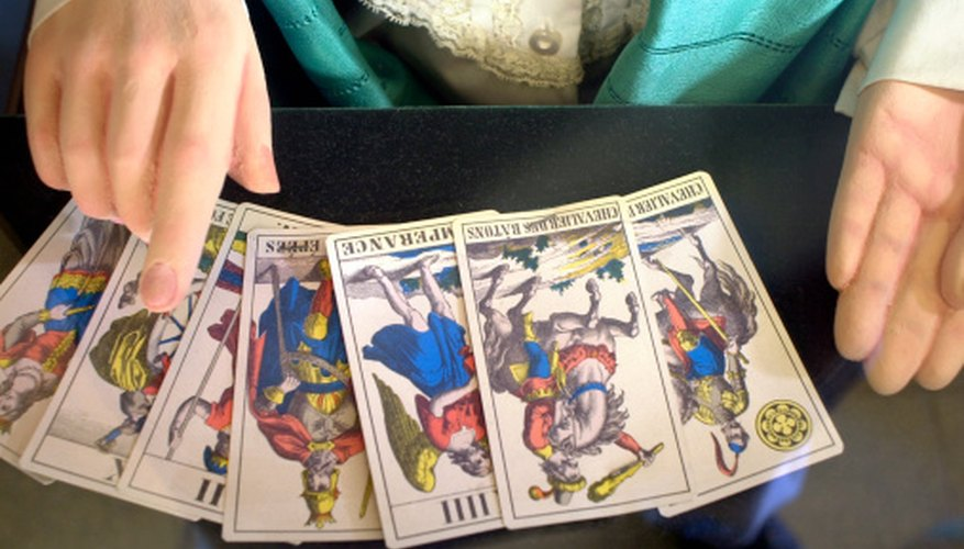 Become familiar with your tarot deck before any readings.