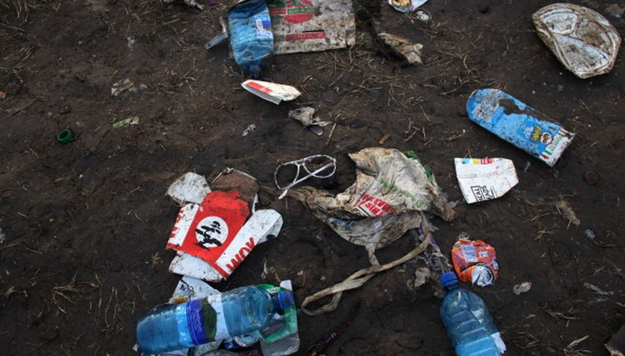 Litter doesn't just accumulate in one place; it can wind up in storm drains, waterways and animal habitats.