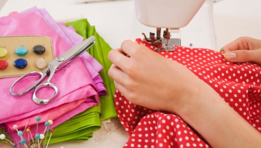 Repair the open casing by machine-stitching along the original stitching line.