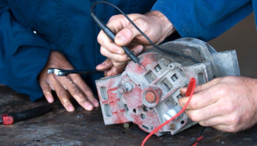 Automotive technician courses are available for future automotive electricians.