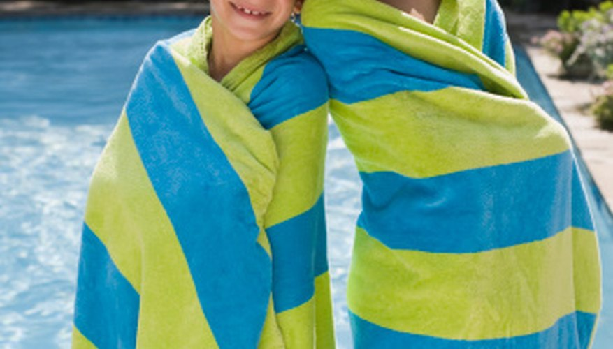 Learn to swim at the YMCA summer camp.