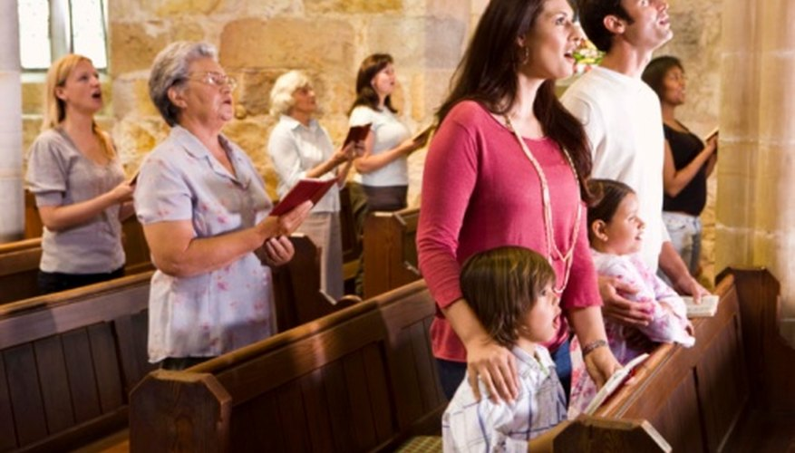 Many Christian denominations share an emphasis on worship.