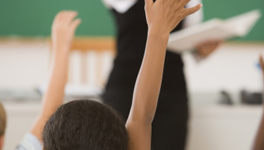 The effective substitute teacher loves working with children.
