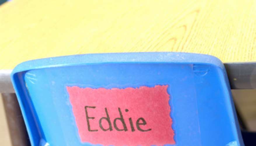 Learning student names is important for the students and the teacher.