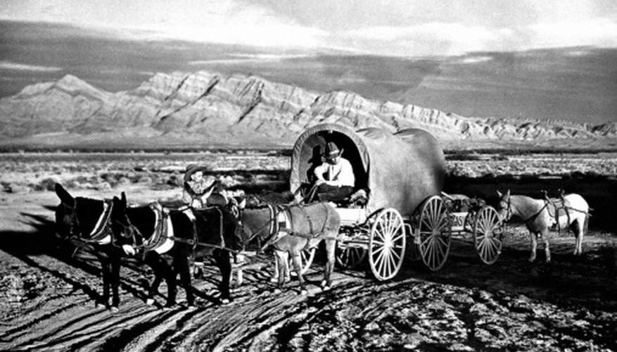 Mormon pioneers first arrived in the Salt Lake Valley on July 24, 1847.
